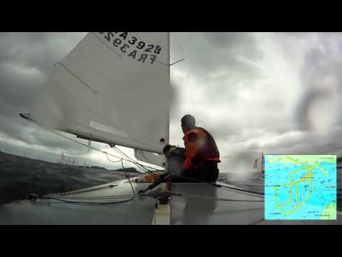 Race 1 of 6 - 18/05/2012 French National Flying Fifteen in Dinard