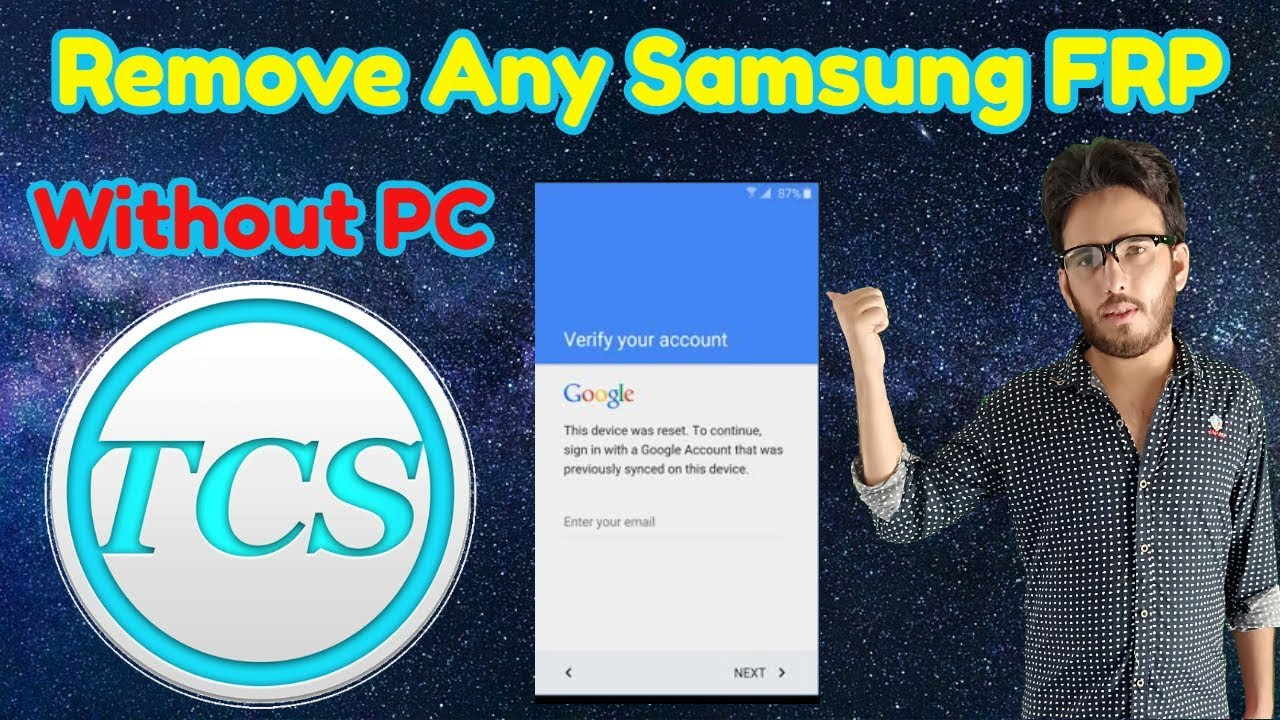 How To Remove FRP Samsung And Other Brand New Method 2018 Without Pc