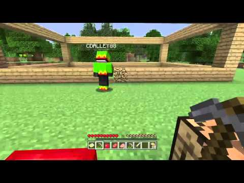 Minecraft (PS4) Survival Mode w/Friends Episode 1 - Building A House (Twitch Livestream)