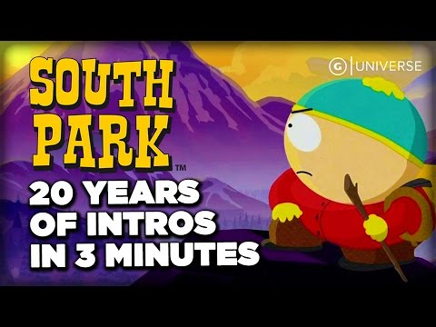 South Park: 20 Years of Intros in 3 Minutes