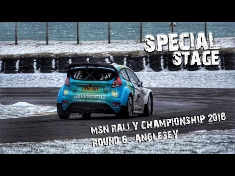 MSN Rally Championship 2017/18 - Round 6 Anglesey