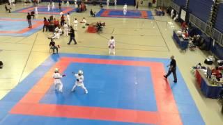 Arwen & Carley Kumite Gold Match (Katsu 2/22/15)