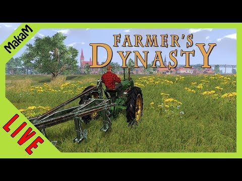 Farmer's Dynasty Gameplay LIVE [HUN] #2 - Kombájnért javítunk!