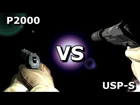CS:GO -  P2000 VS USP-S