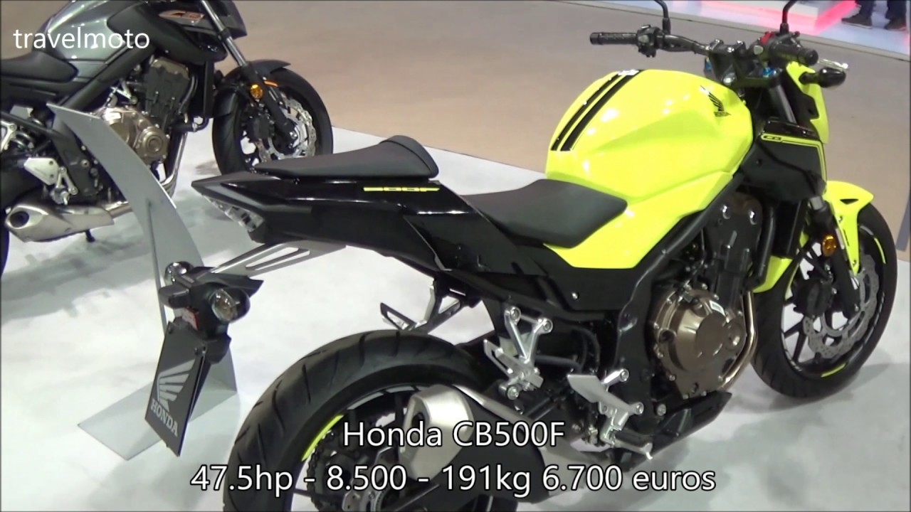 the new honda cb500f 2017 youtube. Black Bedroom Furniture Sets. Home Design Ideas