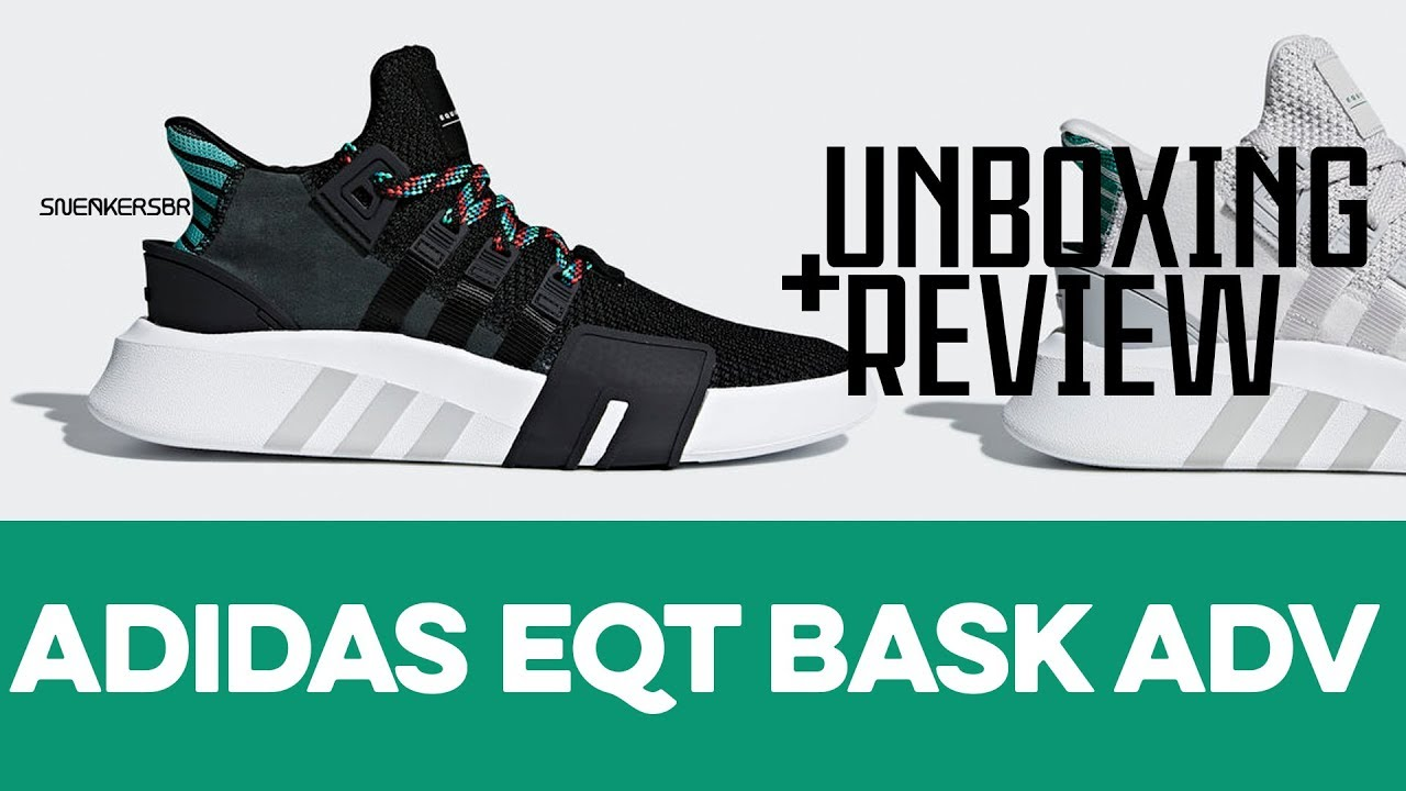 buy online 7f2f3 afc50 UNBOXING+REVIEW - adidas EQT Bask ADV