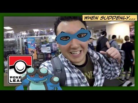 TOAD GUY APPEARED!!   Pokemon League Vlogs