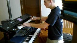 Sonata Arctica - Fullmoon (keyboard cover)