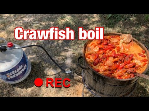 Authentic Texas Crawfish Boil!!