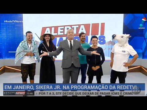 Resultado de imagem para SIKÊRA JÚNIOR AGORA EM REDE NACIONAL!