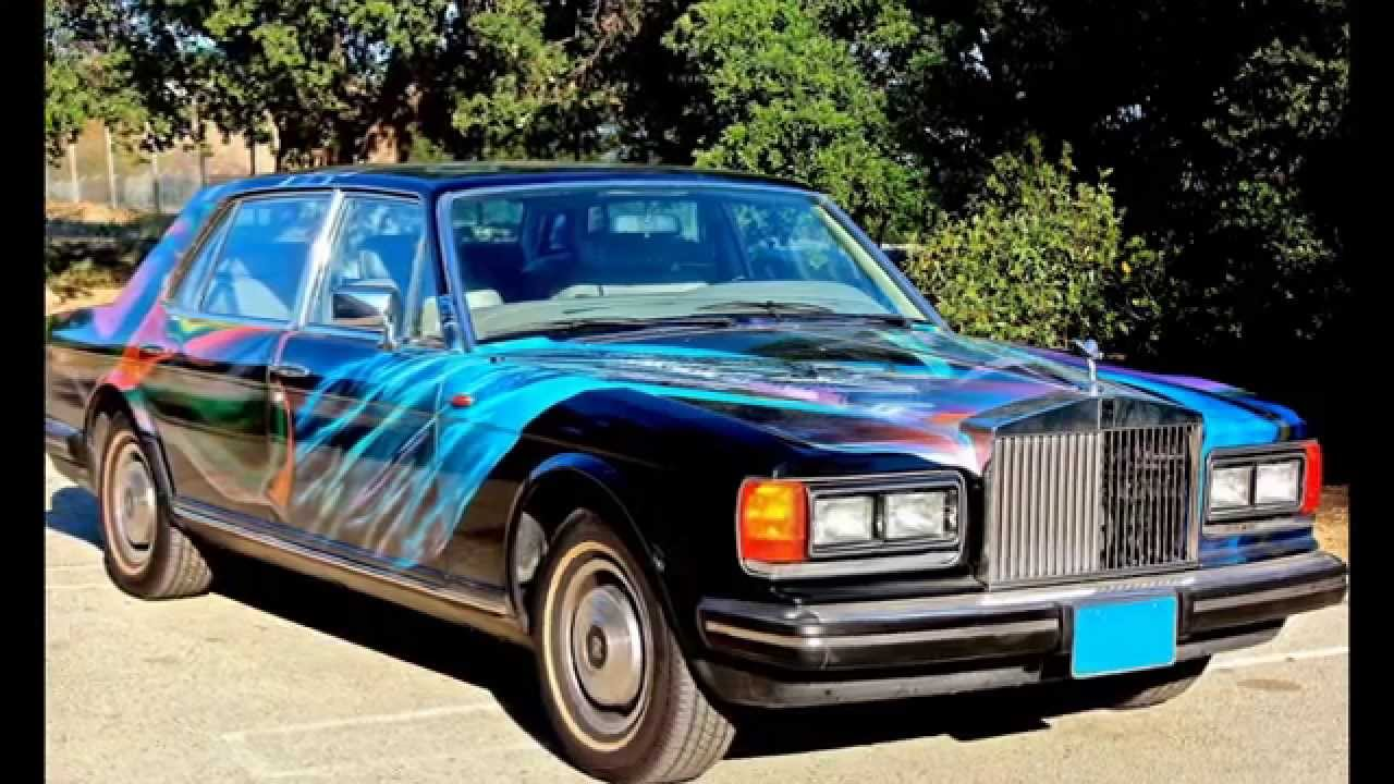 Osho The Black Kimono Rolls Royce Silver Spur Youtube