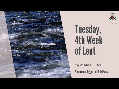 Catholic Weekday Mass Online - Tuesday, 4th Week of Lent