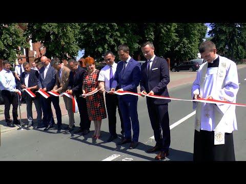 Najważniejsza droga w gminie Łomazy oficjalnie odnowiona
