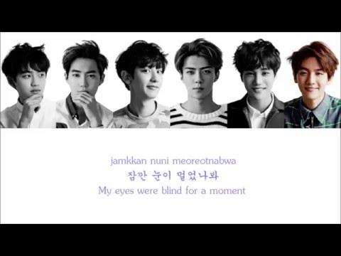 Lyrics EXO-K - THUNDER [Hangul/Romanization/English] COLOR CODED