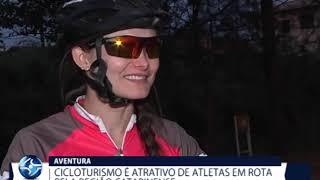 Cicloturismo é atrativo de atletas em rota pelo litoral catarinense