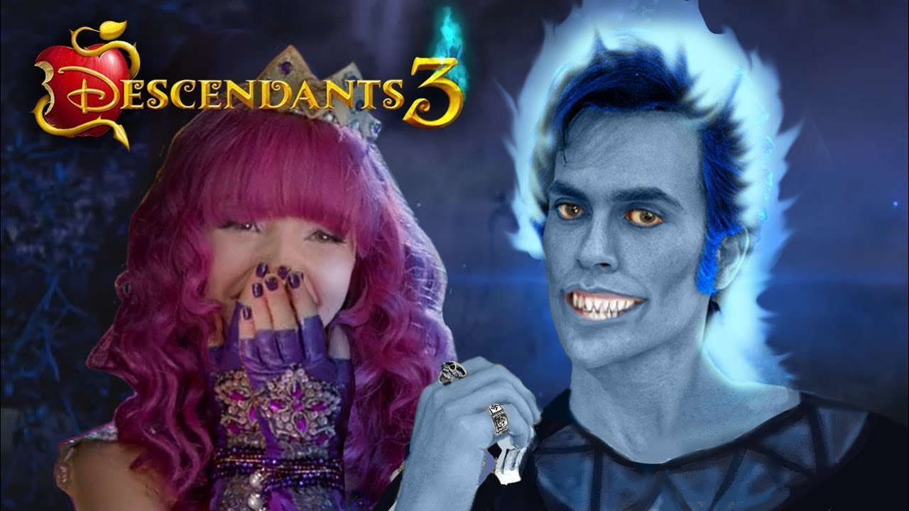 Descendants 3: HADES Is MAL's DAD! 🔥💙 Everything We