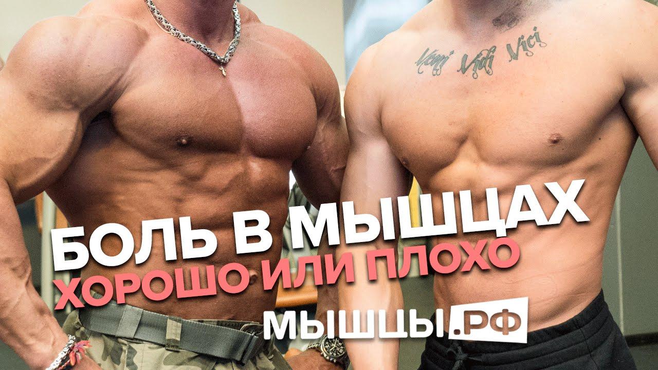 Боль в мышцах: хорошо это или плохо? Линдовер, Миронов, Гусев