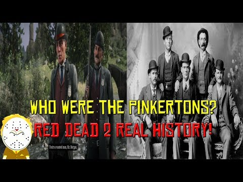 Red Dead Redemption 2 Real History Who Were The Pinkertons? ( Spoilers )