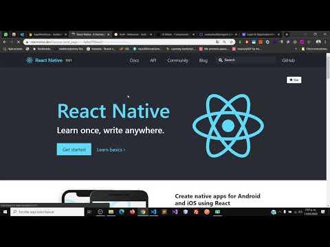 Codificación De Vistas Y Probar Conexión Con Firebase En React Native Parte 1