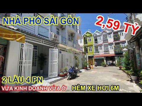 Nhà Hẻm Xe Hơi 4 Phòng Ngủ Full Nội Thất Đường Huỳnh Tấn Phát - Bất Động Sản Nhà Bè