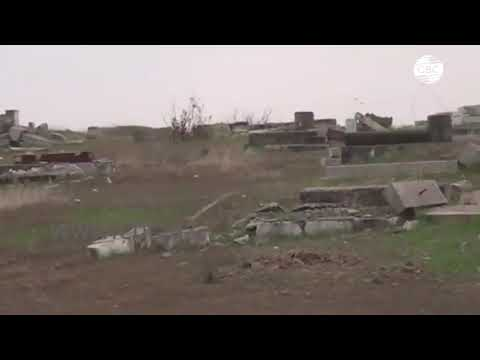 Армяне полностью разрушили кладбище на освобожденной от оккупации территории Физулинского района
