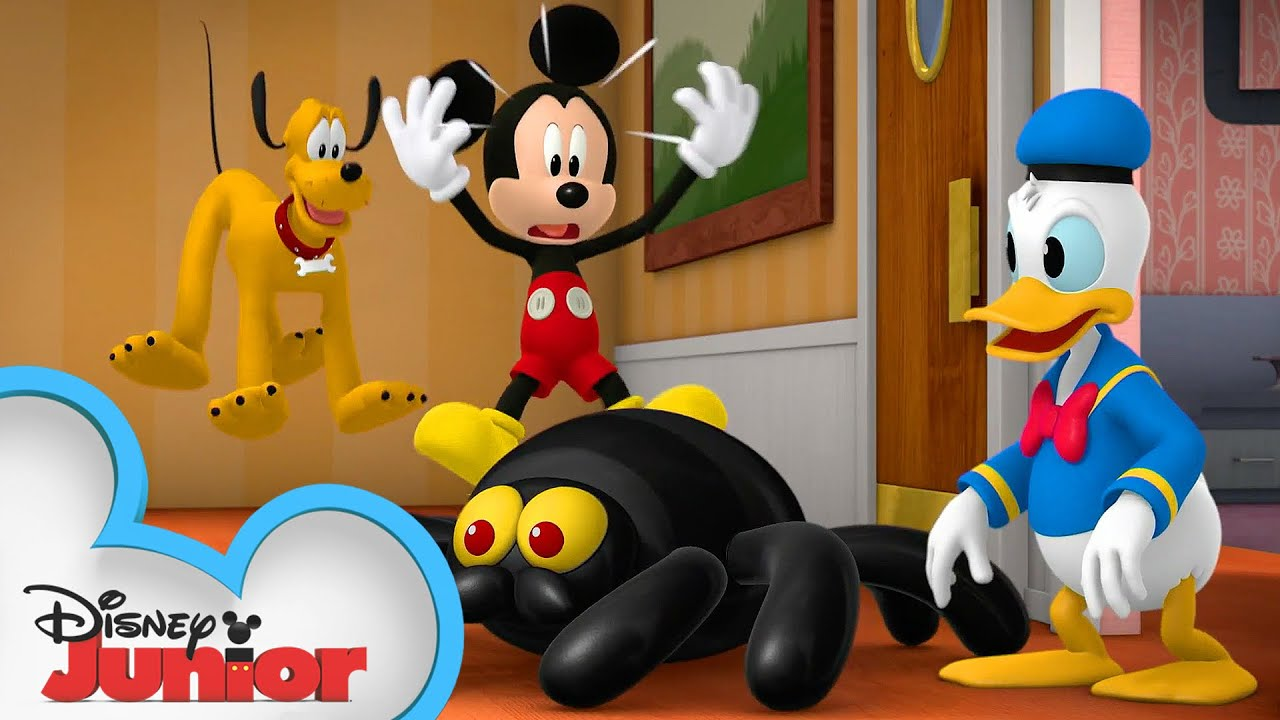 Decorate for Halloween   Mickey Mouse Funhouse   Spidey and his Amazing Friends   @Disney Junior