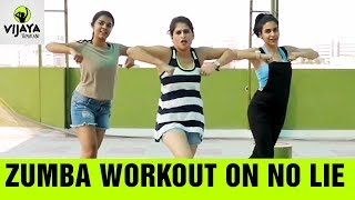 Zumba Workout on No Lie | Dance Fitness Routine | Zumba Latest Videos | Vijaya Tupurani