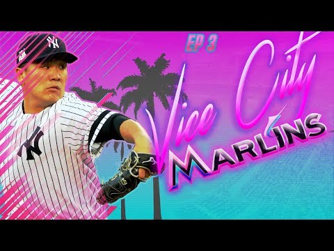 HUGE TRADE FOR ALL STAR ARMS - Vice City Marlins |MLB The Show 18 Miami Marlins Franchise Rebuild|