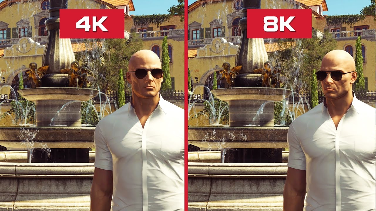 Image result for 8k and 4k gaming difference