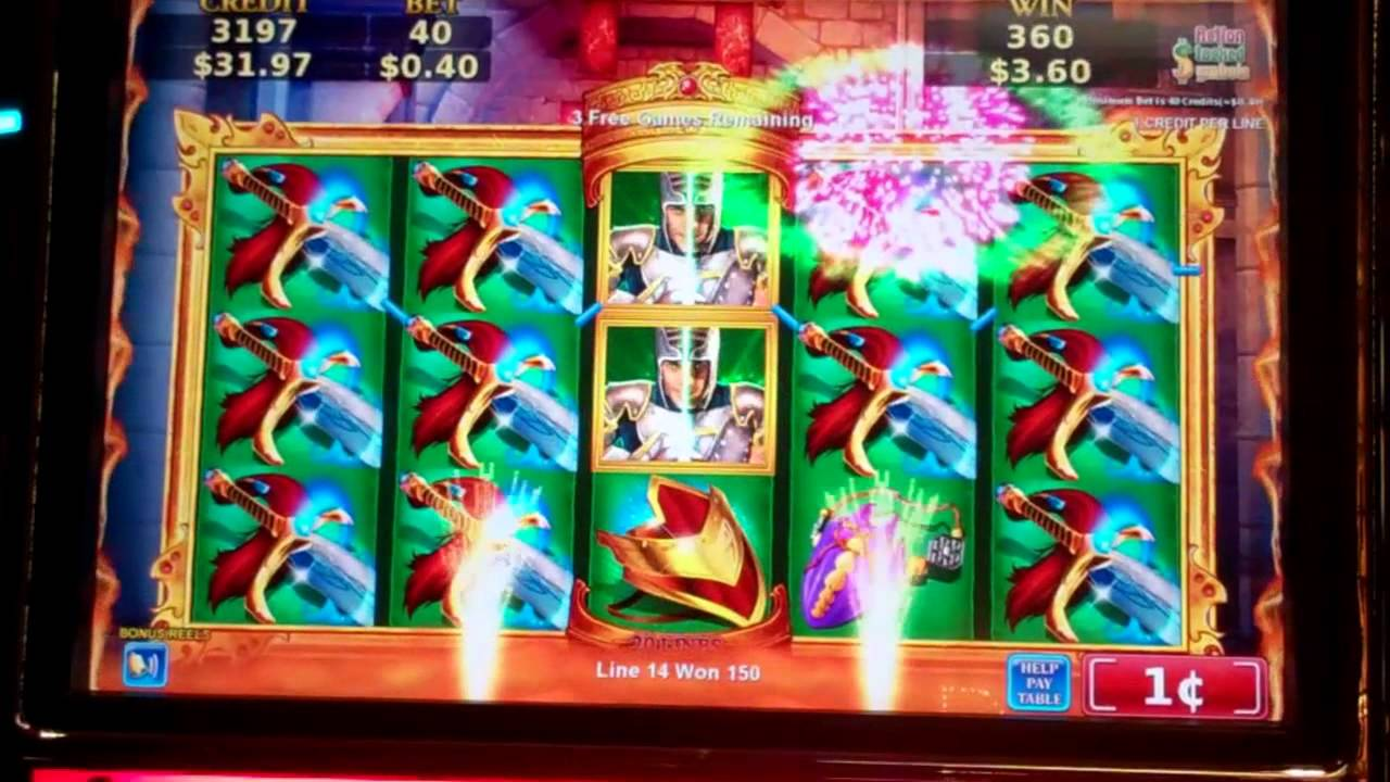 Dungeons and dragons slot wins list of poker hands