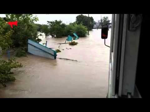 Наводнение в Октябрьском районе Приморского края