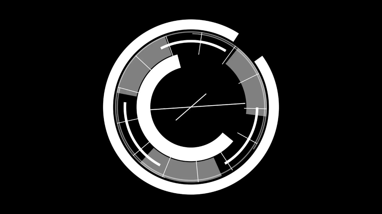 free hud element circle effects template youtube
