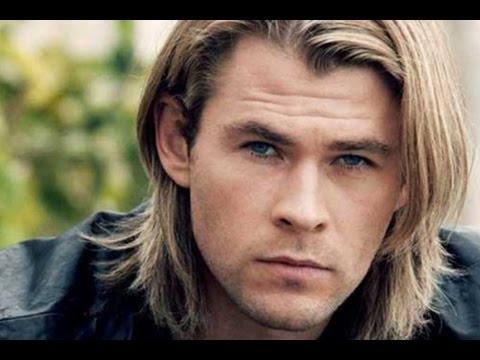 long hairstyles men blonde
