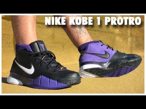 Nike Kobe 1 Protro 'Purple Reign' - YouTube