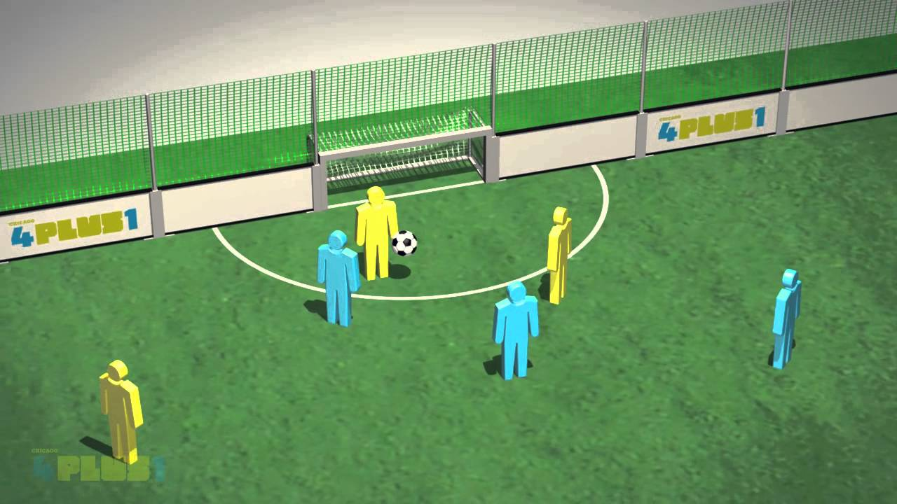 Explaining Four Plus One 5-a-side soccer