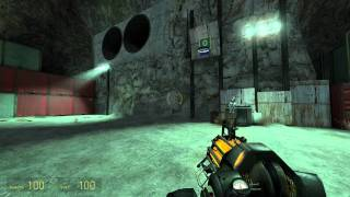 Half-Life 2 Walkthrough: Chapter 5 - Black Mesa East {Part 2} [Hard Mode] (1080p)