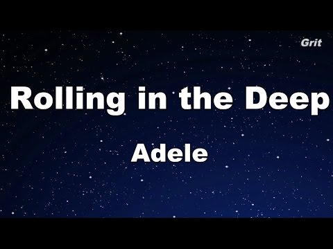 Rolling in the Deep - Adele Karaoke【With Guide Melody】