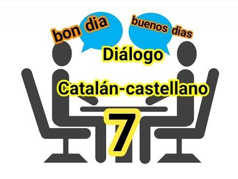 DIALOGO Catalán-castellano 《preguntar por la salud de otro》