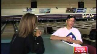 Blind bowler bowls two perfect games