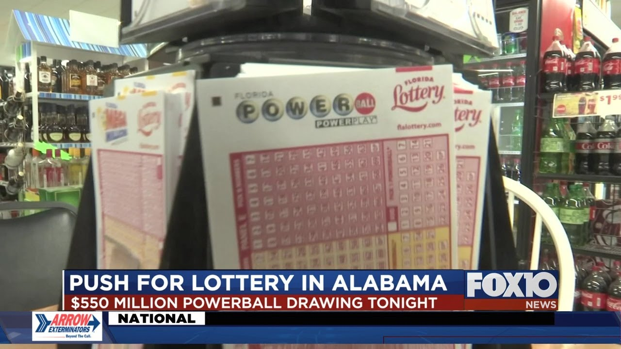 Big Powerball Jackpot Has People From Alabama Buying Lottery Tickets