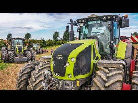 CLAAS Traktoren im Einsatz | Horsch Technik | Bodenbearbeitung | Saat | AgrartechnikHD