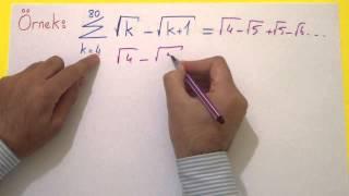 Toplam Sembolü 1 - şenol Hoca Şenol Hoca Matematik