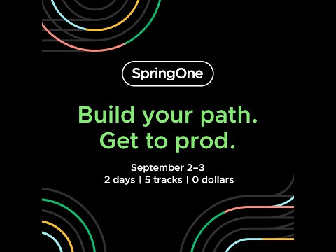SpringOne 2020 Highlights