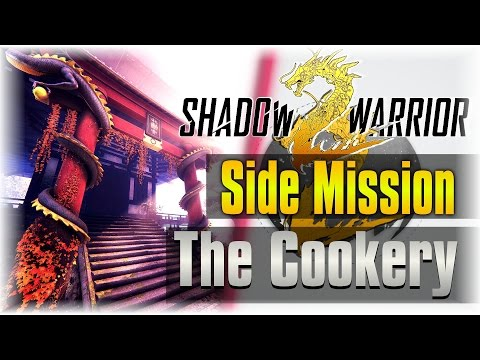 Desert Eagle!!! | Shadow Warrior 2 #8 | [Side Mission] [The Cookery]