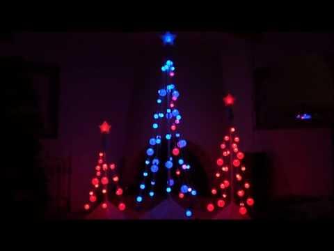 2008 Gemmy light show trees (sound mod)