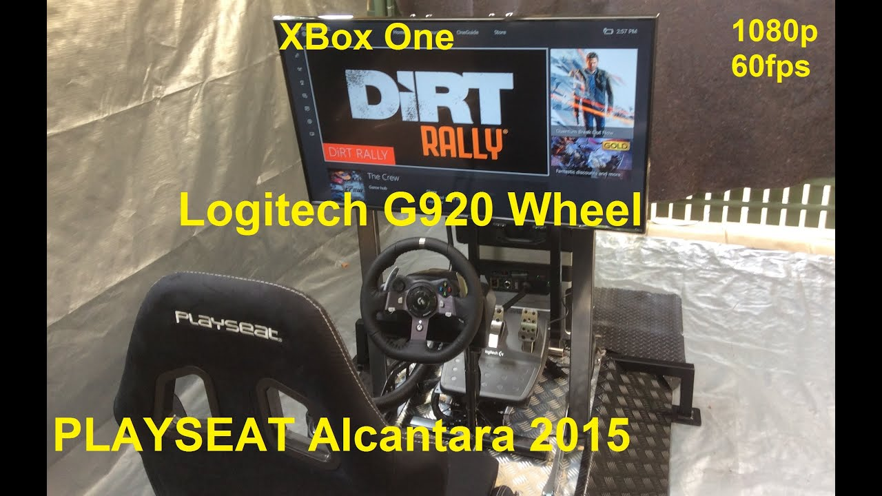 dirt rally xbox one fun using playseat logitech g920. Black Bedroom Furniture Sets. Home Design Ideas