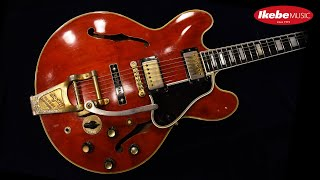 【IKEBE channel】試奏:Gibson ES-355TDSV '60