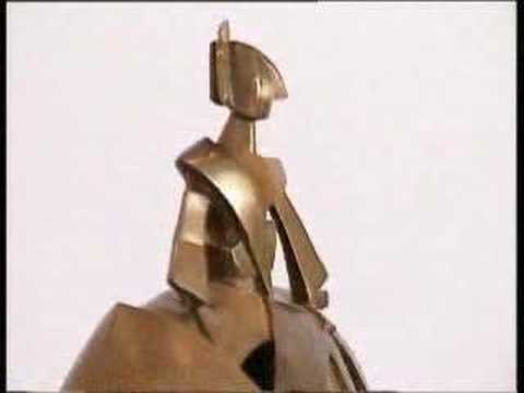 Girl Air and Metal (Oxid. Bronze) - Contemporary Sculpture