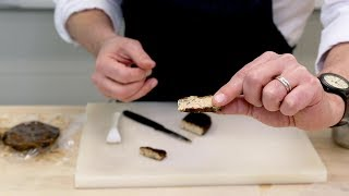 How to make blue cheese with fermented oats