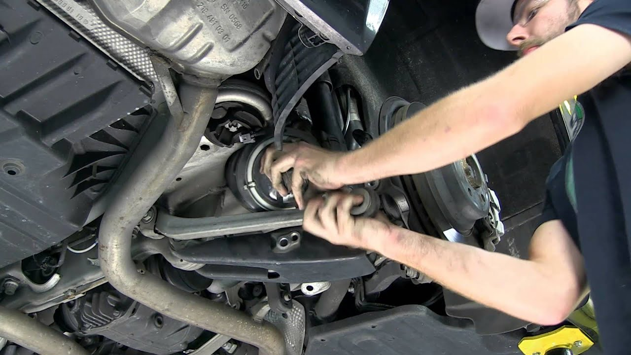 Replacing Mercedes E-Class Rear Spring without Lowering the Rear End Using Arnott A-2724 - YouTube